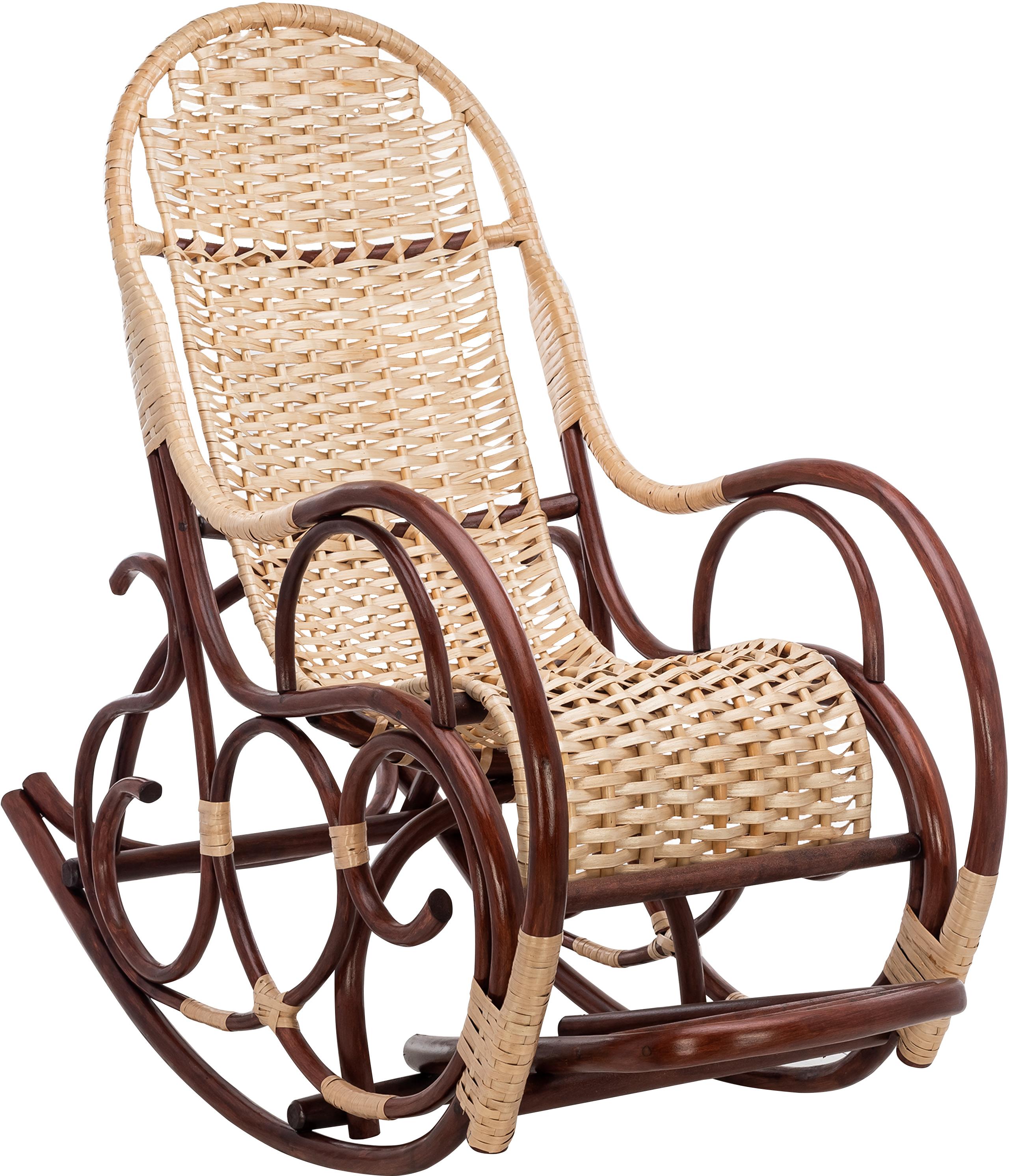 Неочевидные преимущества кресло-качалки из ротанга